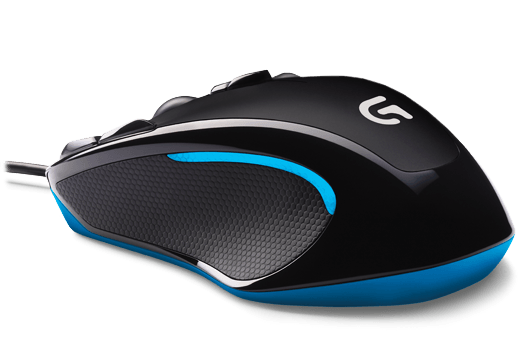 Logitech G300s Gaming Mouse Black/Blue