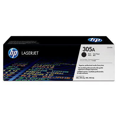 HP CE410A (305A) Black toner