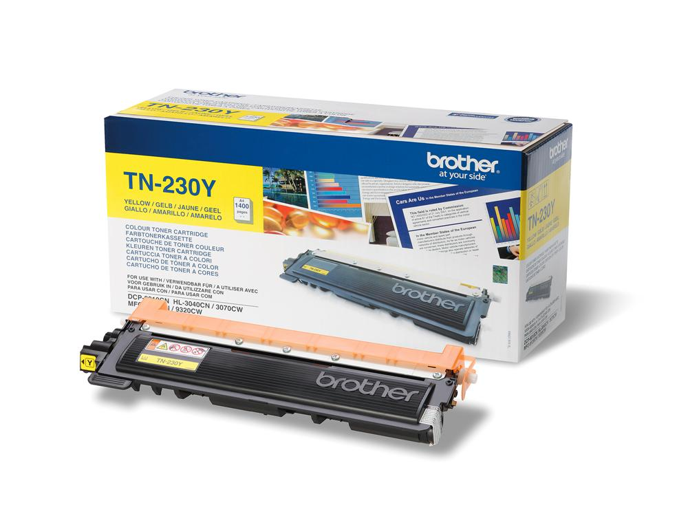 Brother TN-230Y Yellow toner