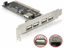 DeLock PCI-Card USB 2.0 4+1 port