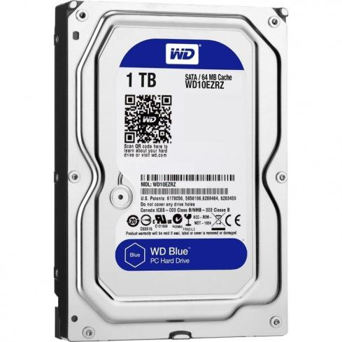 Western Digital 1TB 5400rpm SATA-600 64MB Blue WD10EZRZ