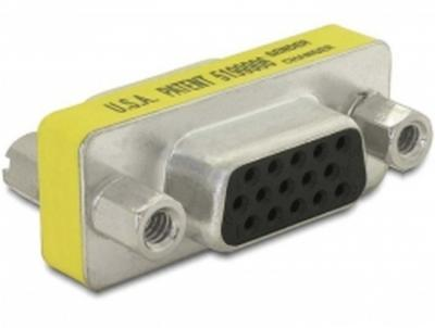 DeLock Adapter Gender Changer VGA female-female