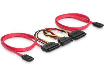 DeLock SATA All-in-One cable for 2x HDD