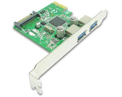 BestConnection PCI-Express USB3.0 kártya 2 port