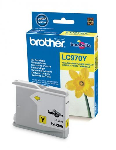 Brother LC970Y Yellow