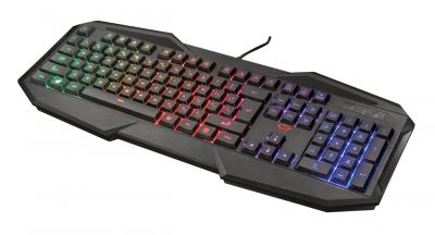 Trust GXT 830-RW Avonn Gaming Keyboard Black HU
