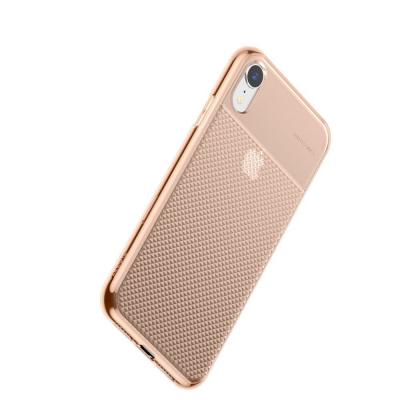 Baseus  Glistening iPhone XR TPU case Gold/Transaprent