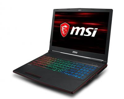 Msi GP63 Leopard 8RE 695XHU Black