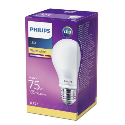 Philips LEDCLassic bulb 8.5-75W A60 E27 827 FR ND