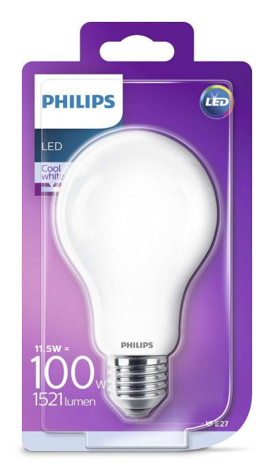 Philips LEDCLassic bulb 11.5-100W A67 E27 840 FR ND
