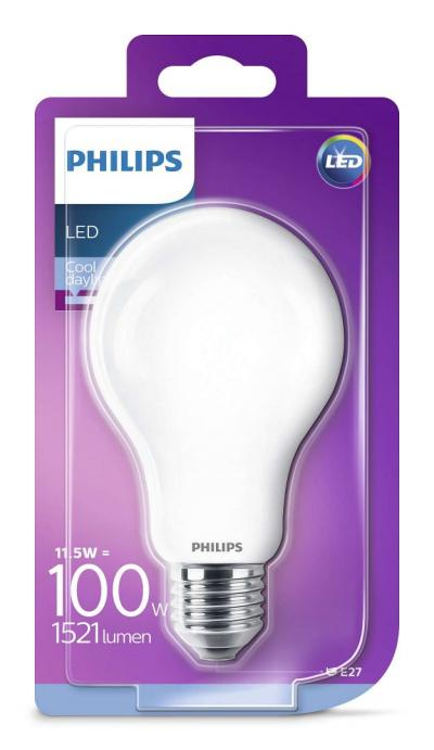 Philips LEDCLassic bulb 11.5-100W A67 E27 865 FR ND