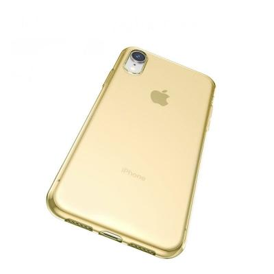 Baseus  Simplicity Series iPhone XR TPU case Gold/Transpert