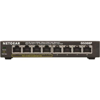 Netgear GS308P 8 Port Gigabit Smart Switch