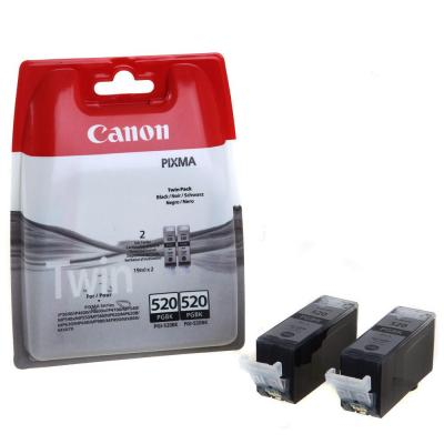 Canon PGI-520BK Twin-Pack Black