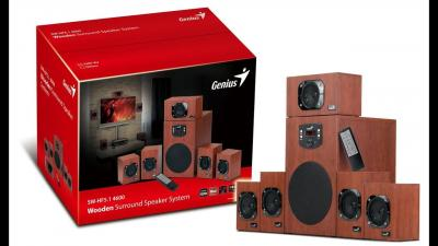 Genius SW-HF5.1 4600 II Wood
