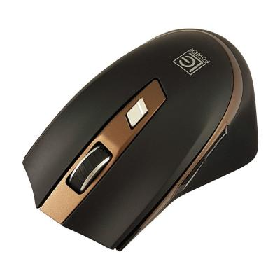 LC Power LC-M719BW wireless mouse Black/Bronze