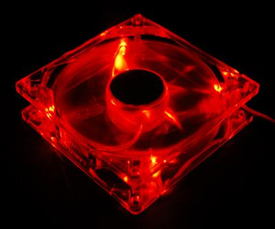 Akyga AW-12A-BR System Fan 12cm Red LED oem