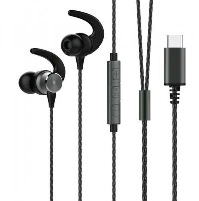Avax EP340 Hi-Res Headset Black