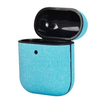 TERRATEC AIR Box Apple AirPods Protection Case Fabric Blue