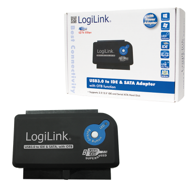 Logilink AU0028A USB3.0 to IDE & SATA with OTB adapter