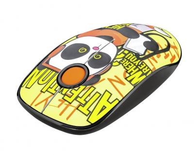 Trust Sketch Silent Click Wireless Mouse Yellow