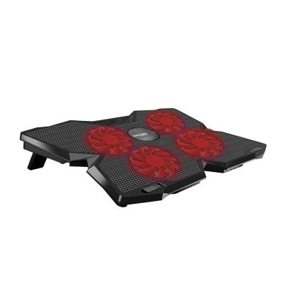 Promate  AirBase-3 Ergonomic Laptop Cooling Pad with Silent Fan Technology