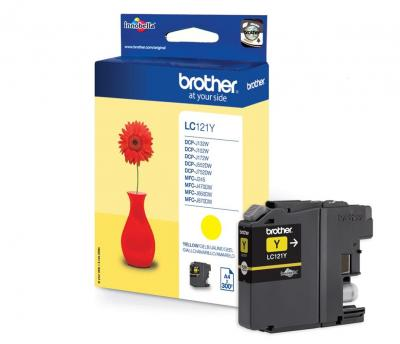 Brother LC-121Y Yellow