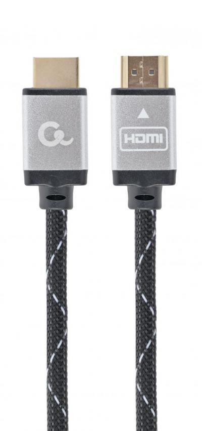 Gembird CCB-HDMIL-3M High speed HDMI with Ethernet Select Plus Series cable 3m Black