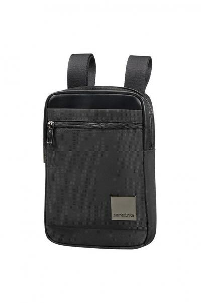 Samsonite Hip-Square keresztpántos táska S Black