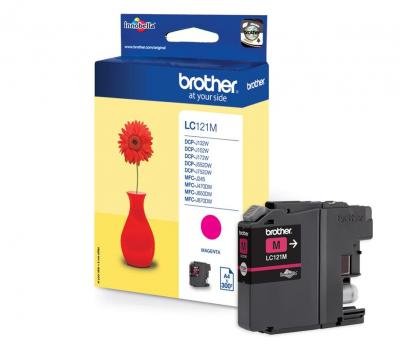 Brother LC-121M Magenta
