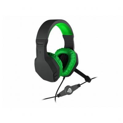 Natec Genesis Argon 200 Gamer Headset Black/Green