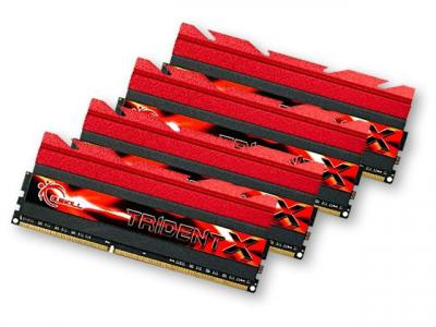 G.SKILL 32GB DDR3 2400MHz Kit(4x8GB) TridentX
