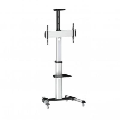 SBOX FS-446 Mobile Floor Stand Silver