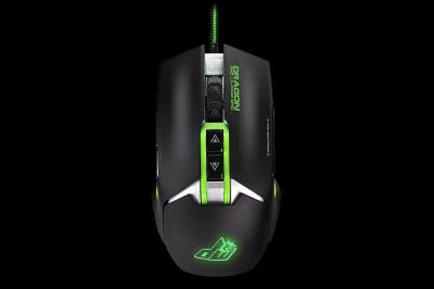 Dragon War G18 S.W.A.P Ambidextrous Gaming Mouse Black