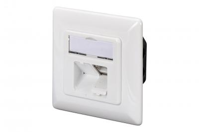 Digitus CAT 5e wall outlet, shielded, 2x RJ45