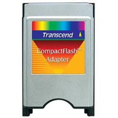Transcend PCMCIA Adapter F/ CF CARD