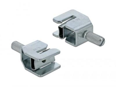 DeLock Shield Clamp for Busbar Cable diameter 3-8 mm