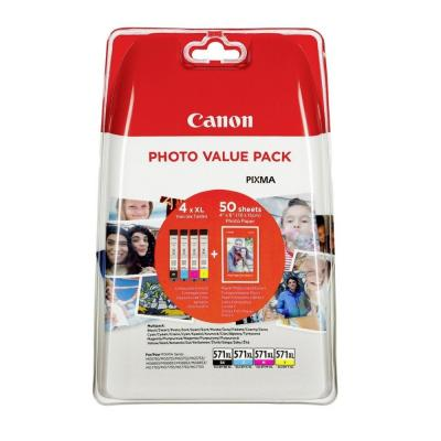 Canon CLI-571XL Photo Value Pack