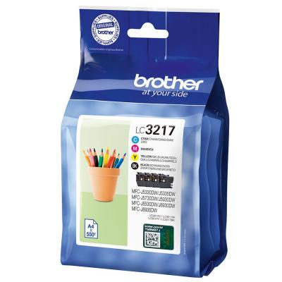 Brother LC-3217 Multipack