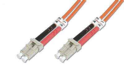 Digitus FO patch cord, duplex, LC to SC