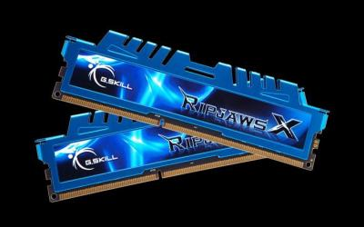 G.SKILL 8GB DDR3 2400MHz Kit(2x4GB) RipjawsX Blue