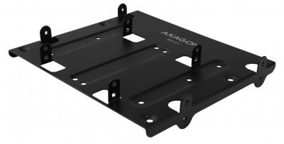 "AXAGON RHD-435 4x2.5"" SSD/HDD or 2x2.5"" SSD/HDD &1x3.5""HDD Bracket into 5.25"" bay Black"
