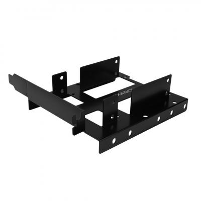 "AXAGON RHD-P35 2x2.5"" SSD/HDD & 1x3.5"" HDD Bracket into PCI slot Black"