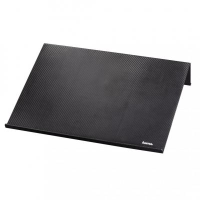 Hama Carbon Look Notebook Stand Black