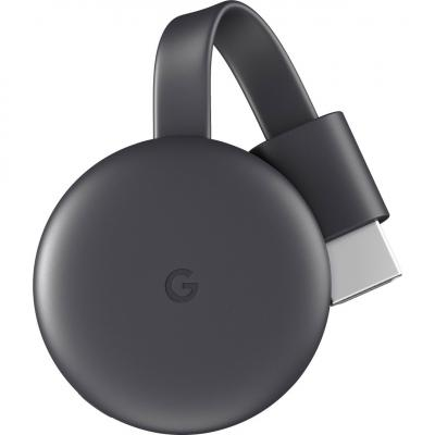Google Chromecast 3 HDMI Mediaplayer AC Black