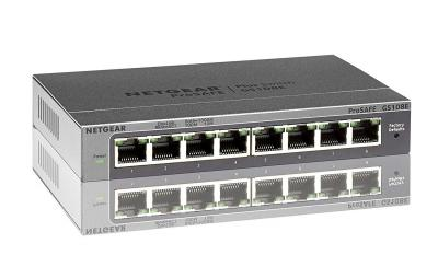 Netgear GS108E 8 Port Gigabit ProSafe Plus Switch