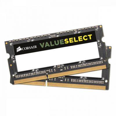 Corsair 16GB DDR3 1333MHz Kit (2x8GB) SODIMM Value Select