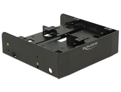 DeLock 5.25″ Installation Frame for 1x3.5″ + 2x2.5″ or 6x2.5″ hard drives