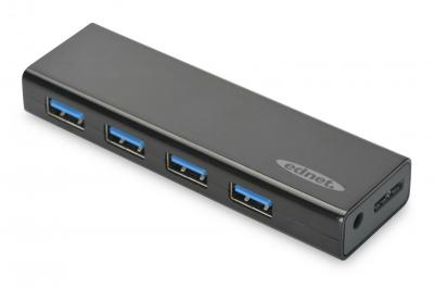 Ednet USB 3.0 HUB, 4-port