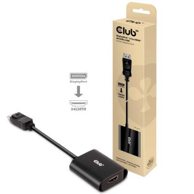 Club3D DisplayPort 1.4 to HDMI 4K120Hz HDR Active Adapter M/F